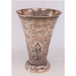 Swedish Silver Vase for Russian Market