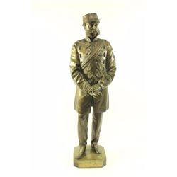 T. Fowke, Bronze Statue of Soldier