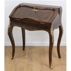 Louis XV Style Flip-Top Lady's Desk