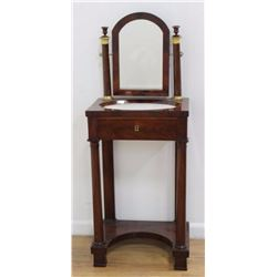 :French Empire Style Gentleman's Shaving Stand