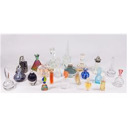 20 Various Perfume Bottles & An Atomizer