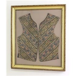 19th Century Persian Embroidered Vest