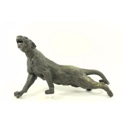 Possibly Bronze Japanese Panther