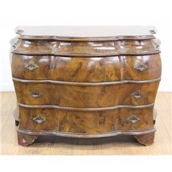 Dutch Style Bombe 3-Drawer Commode