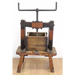Wood & Iron Wine Press