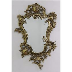 Brass French Style Mirror