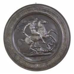 Neoclassical Metal Charger/Plaque