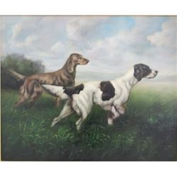 Two Hunting Dogs