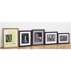 Group Lot 5 Photos & Prints Related to Erno Laszlo
