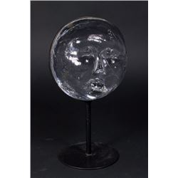 Boda Glass Moon Face