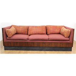 Milo Baughman Rosewood Couch