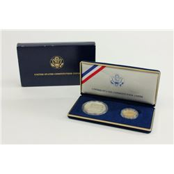 US Constitution 2 Coin Set