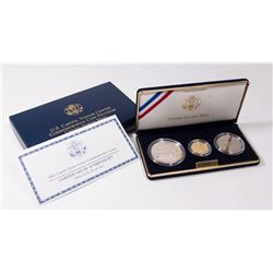 2001 US Capitol Visitor Center 3 Coin Set