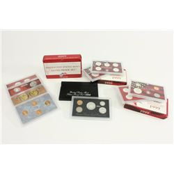 Lot 4 US Mint Silver Proof Sets