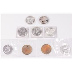 Lot 9 Silver Coins