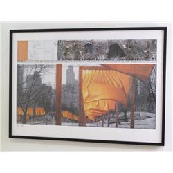 Christo, The Gates Project for Central Park 2003