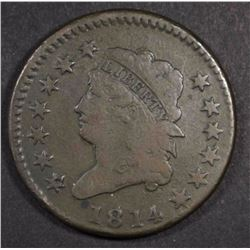 1814 CLASSIC HEAD LARGE CENT, FINE
