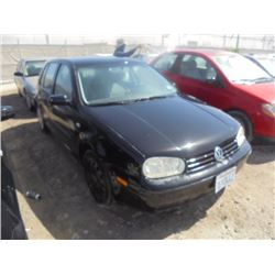 VW GOLF 2002 T-DONATION