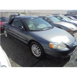 CHRYSLER SEBRING 2001 APP  DUP/T-DON