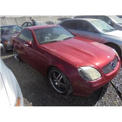 MERCEDES SLK320 2002 APP  DUP/T-DON