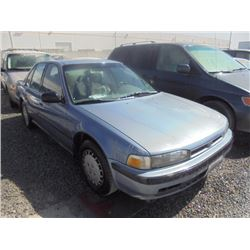 HONDA ACCORD 1990 SALV T/DONATION