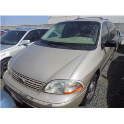 FORD WINDSTAR 2002 T-DONATION