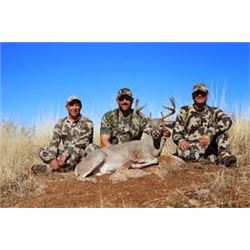"""""""Celebrity"""" Mexico Guided Coues Deer Hunt with 3 MLB players"""