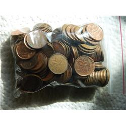 PENNIES - BAG - ASSORTED POST 1969 - 456.10gm