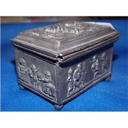 ANTIQUE JEWELRY BOX - JENNINGS BROTHERS - MARKED JB 1286
