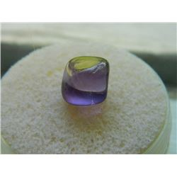 GEM STONE - FREE FORM POLISHED AMETHYST PUPLE OFFSET CUBISH FORMATION - 7.8L X 8.8W X 9.0H mm - ~4.0