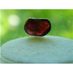 GEM STONE - FREE FORM & POLISHED RICH DARK RED GARNET- 12.2L X 8.2W X 5.0H mm - ~4.25CT
