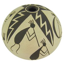 Acoma Pottery Jar - Lucy M. Lewis (1890-1992)