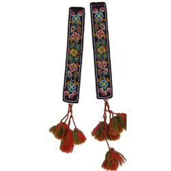 Athabascan Beaded Garters