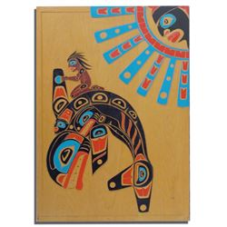 NW Coast Carved Panel - RJ Desjarlais