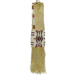 Beaded Buckskin Pipe Bag