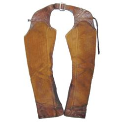 Antique Leather Chaps