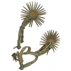 Antique Chilean Spurs