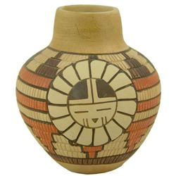 Hopi Pottery Jar - Tom Polacca (1935-2003)