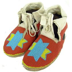 Yakima Beaded Moccasins