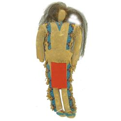 Beaded Buckskin Doll