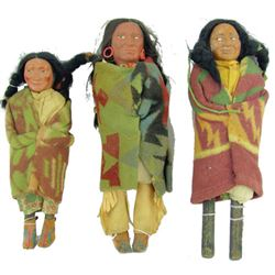 Antique Skookum Dolls
