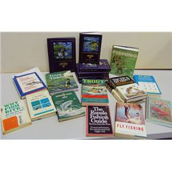 Fishing Book Box Lot