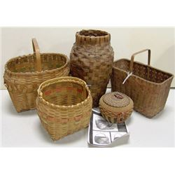 Large Box Lot of Basketry