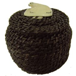 Eskimo Baleen Basket - John Long