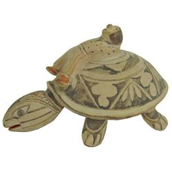 Cochiti Pottery Turtle - Virginia Naranjo (b.1932)