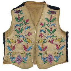 Santee Sioux Beaded Child's Vest