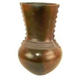 African Pottery Vessel