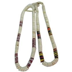 Shell Wampum Necklaces