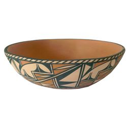 Santo Domingo Pottery Bowl - Lovato