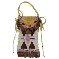 Sioux Style Beaded Bag